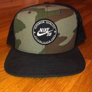 Nike SB Camo Snackback hat